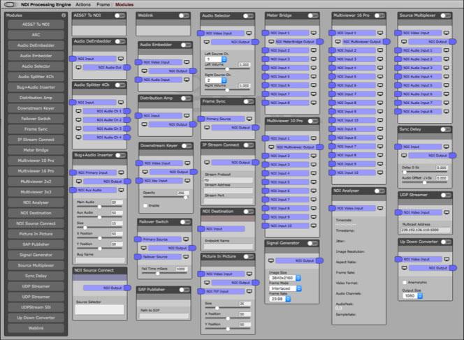 NDI Processing Modules